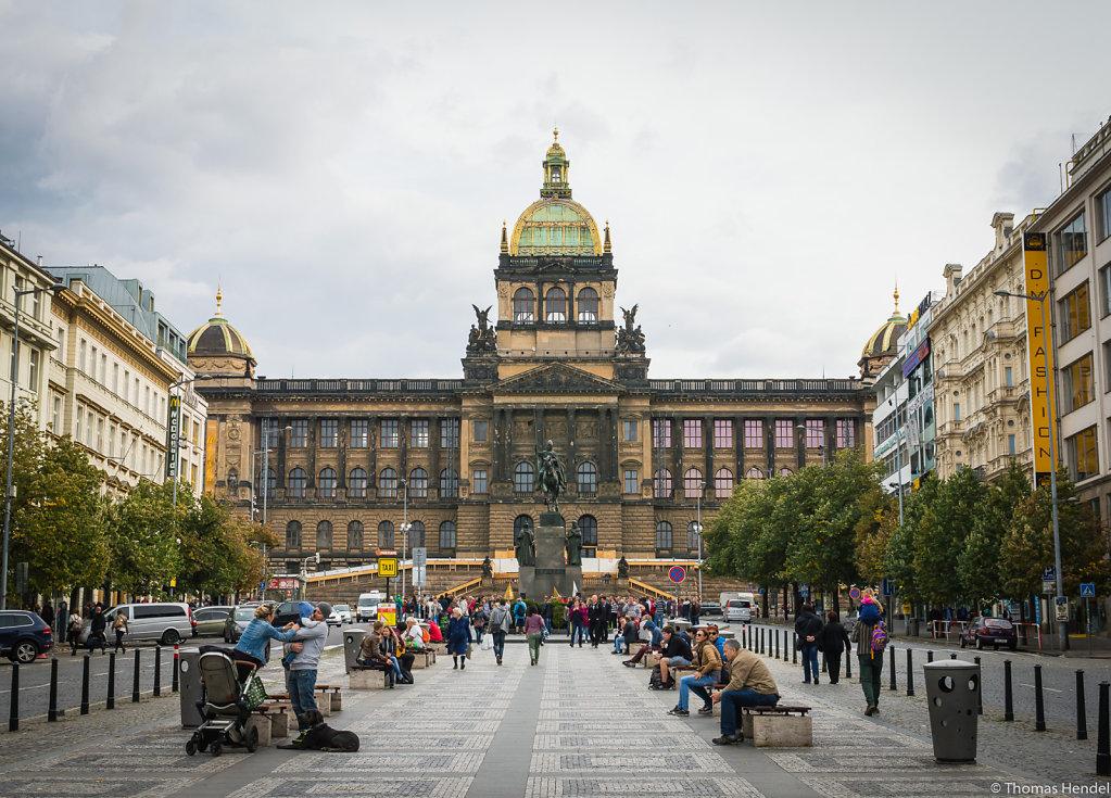 Wenceslas Square.