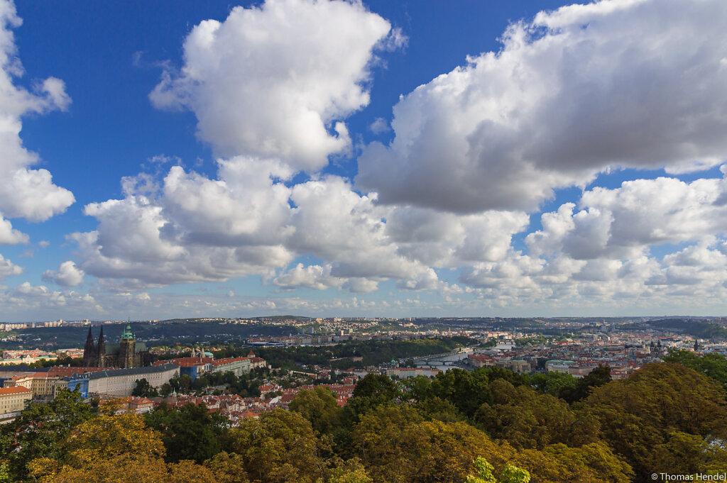 Prague in autumn.