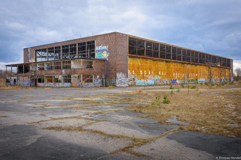 Heinkel Aircraft Factory Oranienburg