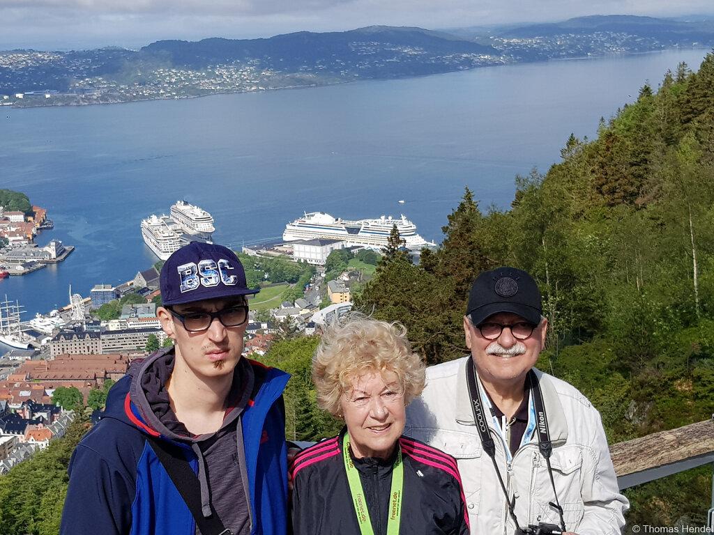 Mit der AIDA in Norwegen
